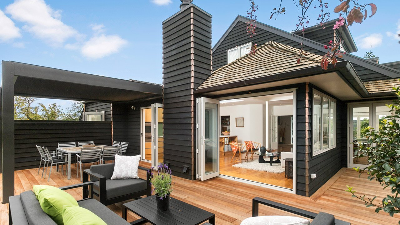 Renovated home large deck